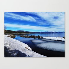 Tahoe City Canvas Print