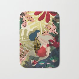Relaxed in Jungle - The Book Lover Bath Mat