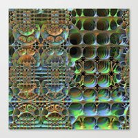 honeycomb Canvas Prints featuring Honeycomb by Lyle Hatch