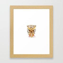 Hype Beast Killa Framed Art Print