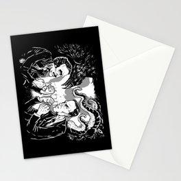 Poe vs. Lovecraft Stationery Cards