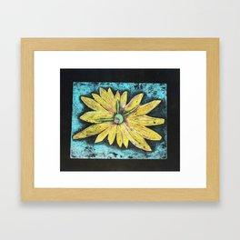 Daisey Framed Art Print