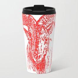 Mountain Sheep Travel Mug