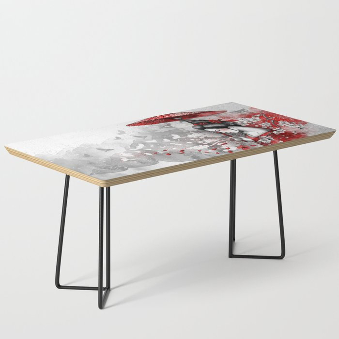 Falling blossoms Coffee Table
