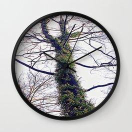 A cross formed by Regeneration Wall Clock