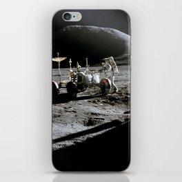 Apollo 15 - Moonwalk 1971 iPhone Skin