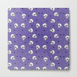 Lots of Skulls Metal Print