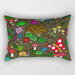 Garden Awakens Rectangular Pillow