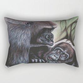 Sekani and Adelina Rectangular Pillow