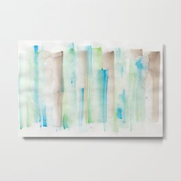 180713 Watercolor Play 1 Metal Print