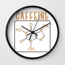 Sleepy Chemist Wall Clock