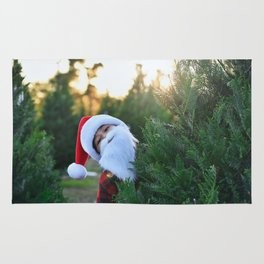 Santa Claus Is Coming To Town Rug
