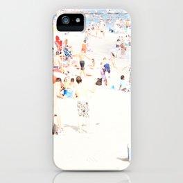 Blue Beach Brooklyn iPhone Case