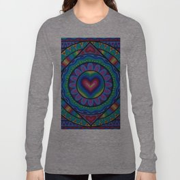 True Love Mandala Long Sleeve T-shirt