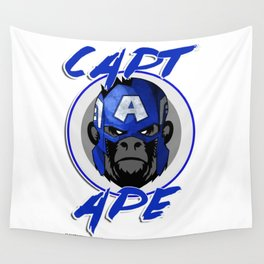 Captain Ape Wall Tapestry