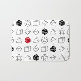 Dungeons and Dragons Dice Bath Mat