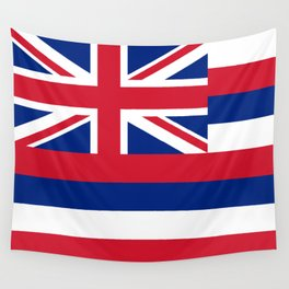 Hawaiian Flag, Official color & scale Wall Tapestry