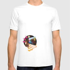 i would go out but (i'd rather just watch youtube videos honestly) Mens Fitted Tee White MEDIUM