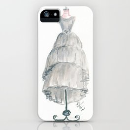 The Gray Dress iPhone Case