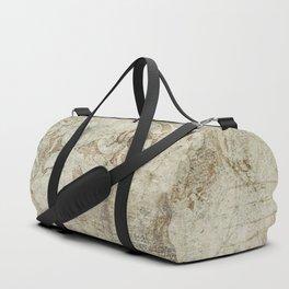 Vintage Provincial Wallpaper Duffle Bag