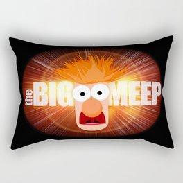 The Big Meep Rectangular Pillow