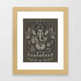 Lord Ganesha Framed Art Print