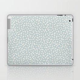 SILVER STARS CONFETTI Laptop & iPad Skin