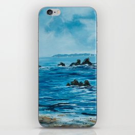 Sailing at the Old Head of Kinsale iPhone Skin