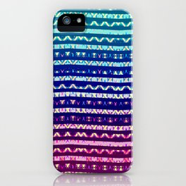 Poster Background | Colorful Geometric Pattern iPhone Case