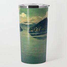 Distant Blues Travel Mug