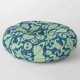 Spaced Out II Floor Pillow