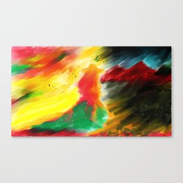 Light in the dark Canvas Print
