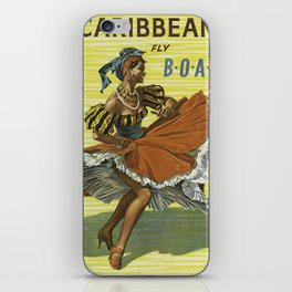 Vintage poster - Caribbean iPhone Skin