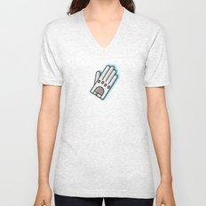 Fancy Glove Icon  Unisex V-Neck