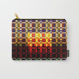 RETRO PIXEL PATTERN Carry-All Pouch