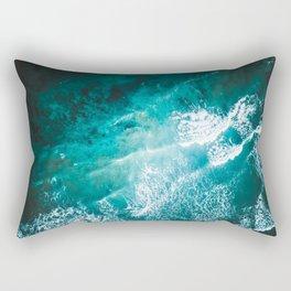 Ocean Explosions Rectangular Pillow