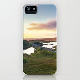 Vanishing Lakes,Ireland,Northern Ireland,Ballycastle iPhone Case