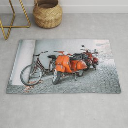Let's go see the world on our Scooter Rug