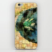 tulip iPhone & iPod Skins featuring Tulip by Aloke Design