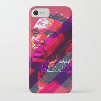 greg guillemin iPhone & iPod Cases featuring GREG ODEN MIAMI HEAT by mergedvisible