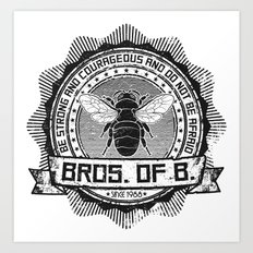 Bros. of B. Light Art Print