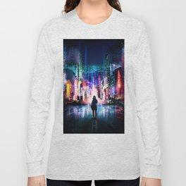Tokyo Cyberpunk Japan Long Sleeve T-shirt