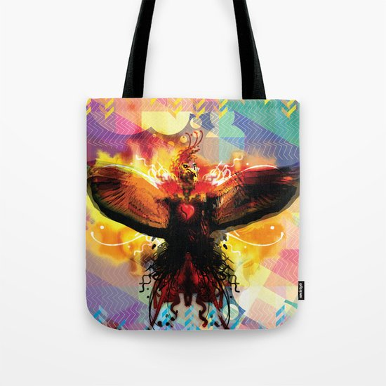 My Love For You Is On Fire Tote Bag