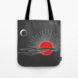 Ember Sun Tote Bag
