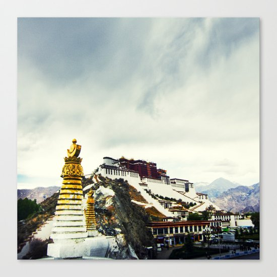 Potala Palace Canvas Print