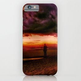 Another place at sunset iPhone Case