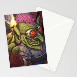 The Firework Maker Goblin Stationery Cards