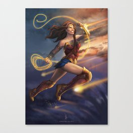 Diana of Thymescaria Canvas Print