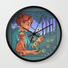 August Wall Clock