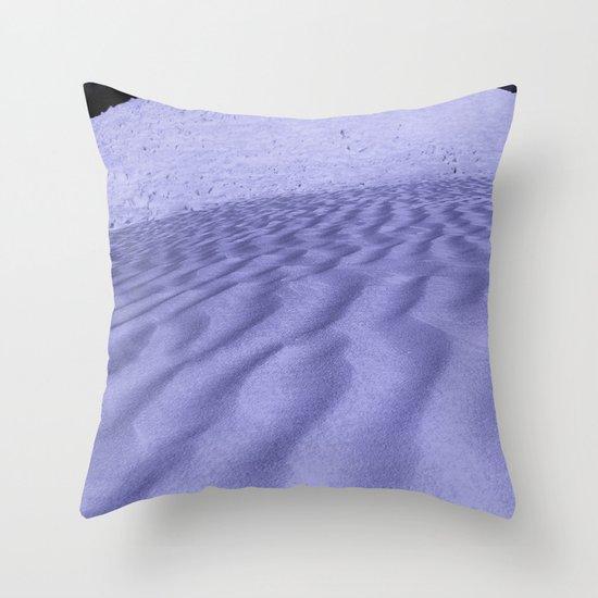 Impending Dune Throw Pillow